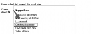 schedule email messages in Gmail